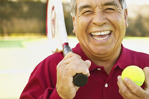 Image of a man smiling. Learn more about root canal therapy at River's Edge Dental in Great Falls, MT